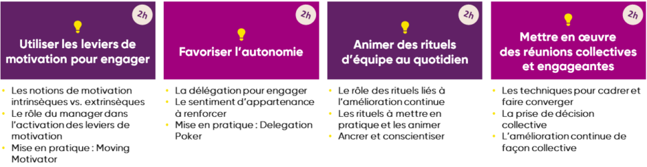 Formation à distance outils management 3.0